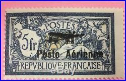 PA N°1 et 2 NEUF TIMBRE FRANCE 2 FRANCS ET 5 FRANCS POSTE AERIENNE (4)