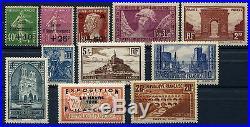 PROMOTION EXCEPTIONNELLE France Année complète 1929 NEUF LUXE