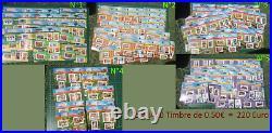 Portraits de régions LA FRANCE À VOIR À VIVRE Lot 440 Timbre 220