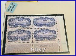 Poste Aérienne COIN DATE 15 juin 36 50f burrele Neuf cote 7500 signe 2 fois