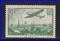 Poste aérienne n°14 neuf, signé Roumet, TTB