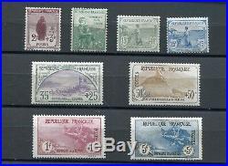 Première série orphelins 1917-1918 n°Y&T 148 à155 neufs sans charnière