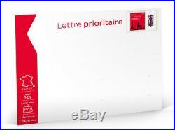 Prêt-à-Poster Lettre Prioritaire 500g Enveloppe indéchirable lot de 100