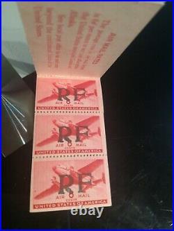 Rarissime carnet poste navale bizerte 2 signé mayer rrr 6 timbres