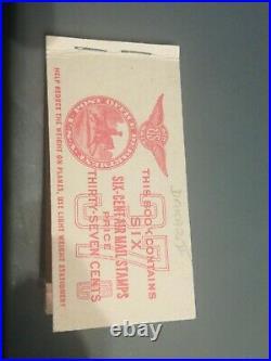 Rarissime carnet poste navale fakar au type 2 signé mayer cote 1500 euros