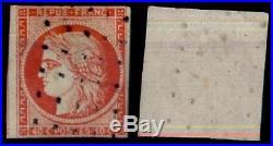 Roulette de Pts carrés sur CERES 5a Vif TTB = Cote 575 / Lot Classique France