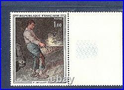 SUPERBE VARIETE MAURY N° 1672a(YT1672) le vanneur jaune absentcote 850