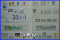 Saint Pierre et Miquelon, collection timbres neufs en classeur (album) 1991-2004