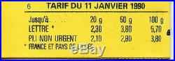 Stamp / Rare / Timbre France Neuf / Carnet 2614-c5a Cote 600