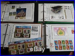 Suite succession collection timbres France 16 classeurs en Franc et Euros