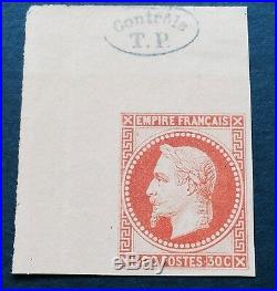 Superbe Tirage De 1867 Expo Universelle En Recto Verso Toujours NSG Contrôle TP