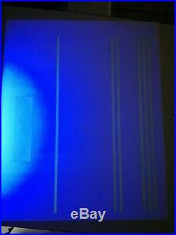 Superbe tres rare feuille essai bandes et aplat phosphore papier glace