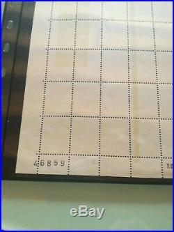 Superbe tres rare feuille sans vignette palissy barre phosphore et aplat essai