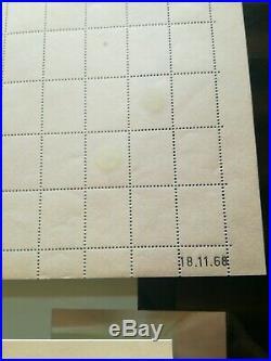 Superbe tres rare feuille sans vignette palissy ronds de phosphore papier nature