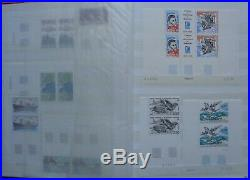 TAAF, Terres australes collection de timbres neufs en classeur (album)