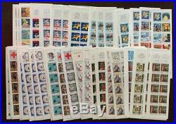 TB lot SOUS-FACIALE Carnets en Francs neufs, faciale 1853 Francs soit 282