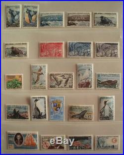 TERRES AUSTRALES COLLECTION TIMBRES NEUFS xx 1956-1972