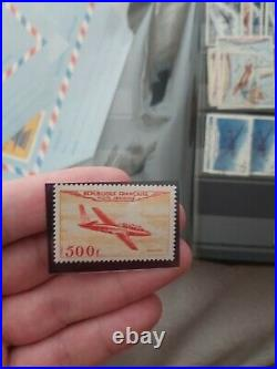 TIMBRE FRANCE NEUF POSTE AERIENNE n°32 FOUGA MAGISTER Côte 250 STOP AFFAIRE