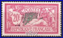 TIMBRE FRANCE année 1925/26 Type MERSON 20 f. N°208. NEUF SUPERBE
