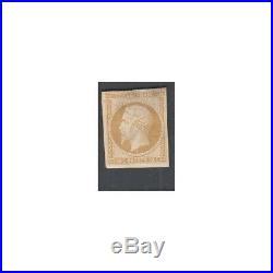 TIMBRE NAPOLEON N°9 10 C. Présidence Neuf réimpression 1862 (FR1) timb1850-6