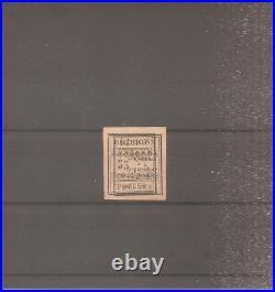 TIMBRE REUNION FRANCE COLONIE 1889 TAXE N°1a NEUF NO GUM VARIETE SIGNE