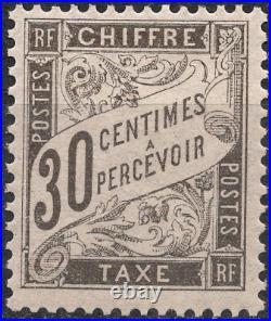 TIMBRE TAXE FRANCE année 1881/92 n°18 NEUF