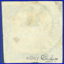Taxe N°7 Type Chiffre Taxe 40c Bleu, Non Dentele 1871-1878 Timbre Oblitere