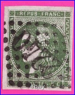 Timbre Classique France Ceres N°42 A Oblitere Tres Rare Cote 6500 (125)