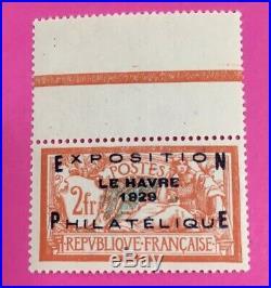 Timbre France Exposition Philatelique Du Havre Sans Charniere N°257a (38)
