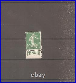 Timbre France Frankreich Semeuse Mineraline 1924 N°188a Neuf Mh