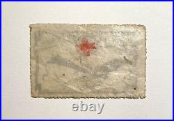 Timbre Neuf Poste Aérienne 1er Vol Postal 1912 Nancy Surchargé Croix-Rouge Rare