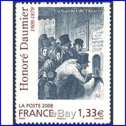 Timbre Poste Autoadhesif 224 Honore Daumier 2008 Neuf