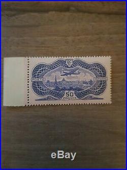 Timbre stamp Rare France 1936 Poste Aérienne N° 15 Neuf Sans Charnière