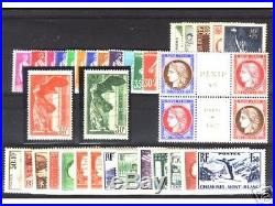 Timbres Annee Complete France Neuf Luxe 1937 +++