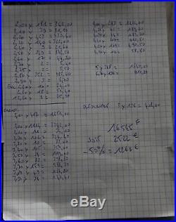 Timbres Francais Neufs 16545 Francs De Faciale 2522 Vendu A 50 % = 1261