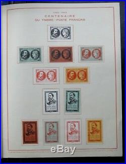 Timbres France Album Centenaire Du Timbre Francais 1849 / 1949 27 Vignettes