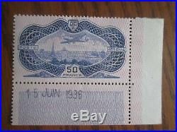 Timbres France P. A Yt 15 Neuf X