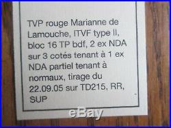 Timbres France Yt 3734 Neuf N. Dentele Accidentel Partiel Rare Ttb