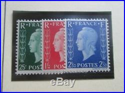 Timbres France Yt 701a/701c Neuf XX