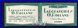 + Tres Rare Carnet Semeuse Grand Luxe / Cote 400e/ 189c2 / Pub Rolland
