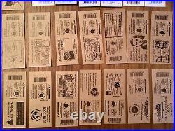Valeur 307 euros de Carnets timbres neuf TVP Marianne Rouge France sous facial