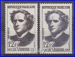 Variete N° Yvert 1147 Le Verrier Neufs Luxe