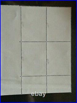 Variete exeptionnelle signe 4984 SAINT- GOBAIN unique bloc de 4 coin date